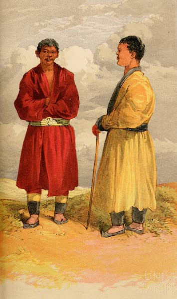 Ladak, Physical, Statistical, and Historical - Dublo, aged 29, a low Lama and Chringjok, aged 22, a Ge-Tshul (Gelukpa Sect) (1854)