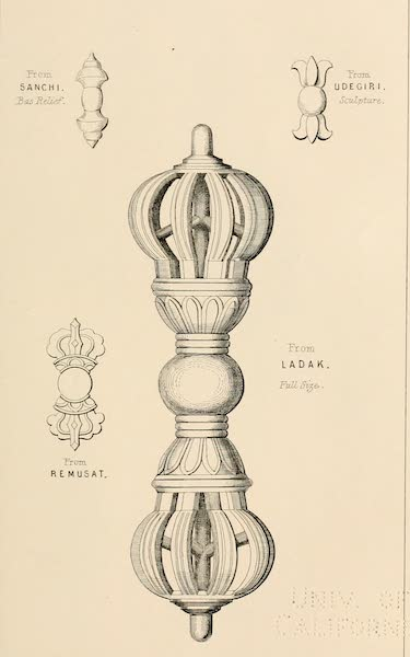 Ladak, Physical, Statistical, and Historical - The Dorge, Sceptre or Thunderbolt (1854)