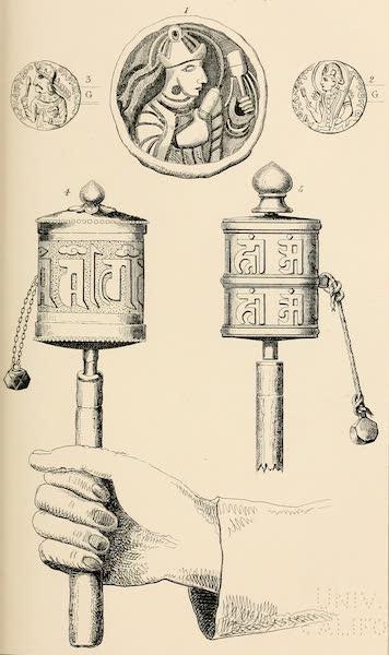 Ladak, Physical, Statistical, and Historical - The Mani-Chhos-Kor or Prayer Cylinder (1854)