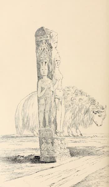 Ladak, Physical, Statistical, and Historical - Eastern Pillar, called Chomo, at Dras (1854)