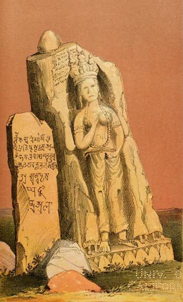 Ladak, Physical, Statistical, and Historical - Western Pillar, called Chomo, at Dras (1854)
