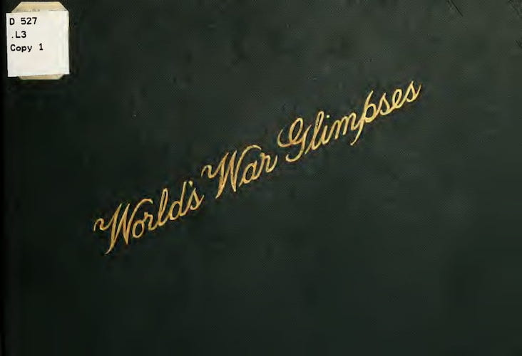 English - Laird & Lee's World's War Glimpses