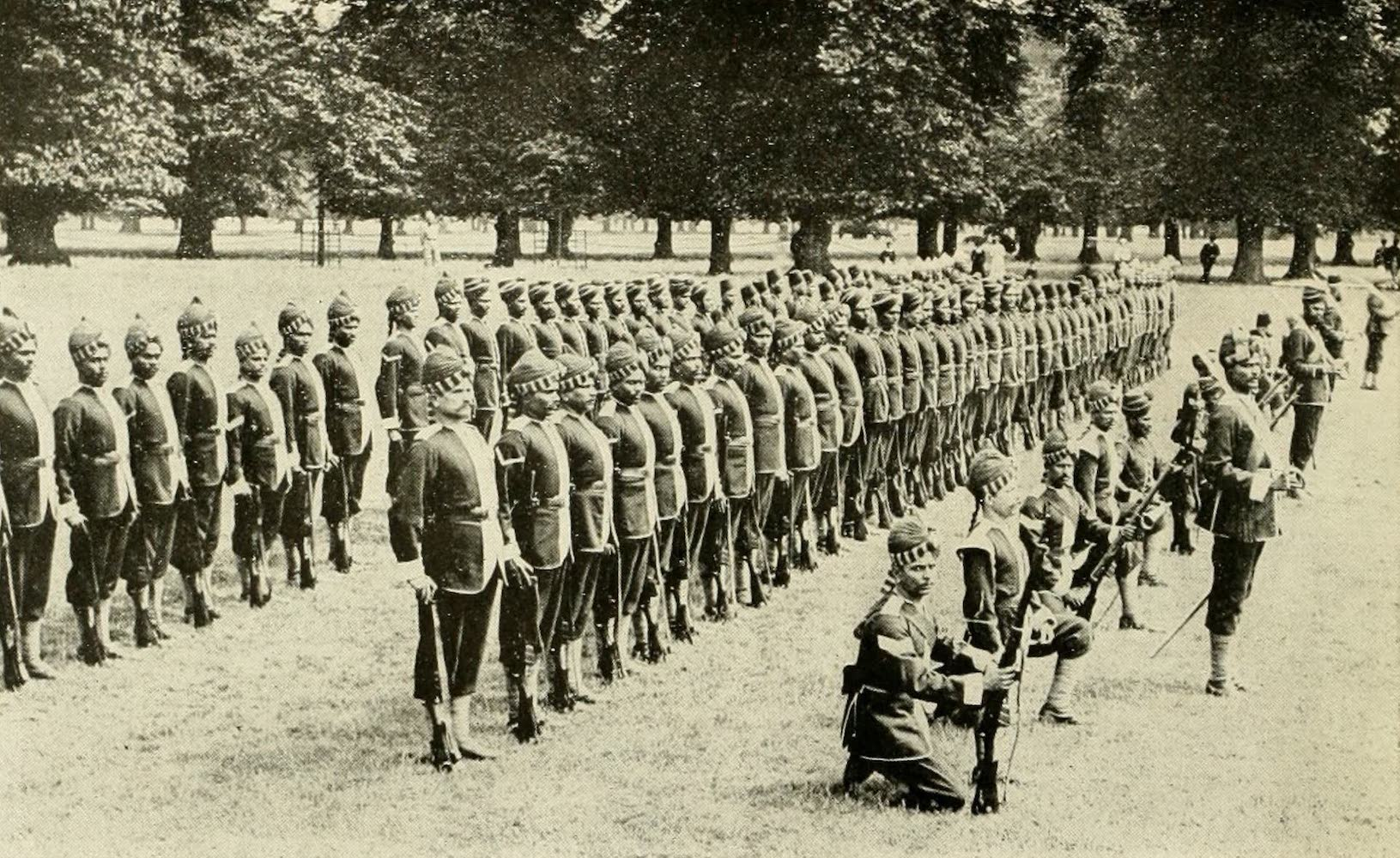 Laird & Lee's World's War Glimpses - East Indian Riflemen (1914)