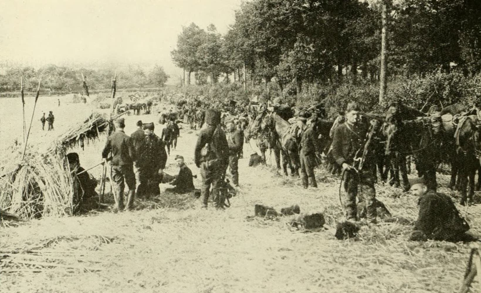 Laird & Lee's World's War Glimpses - A Belgian Camp (1914)