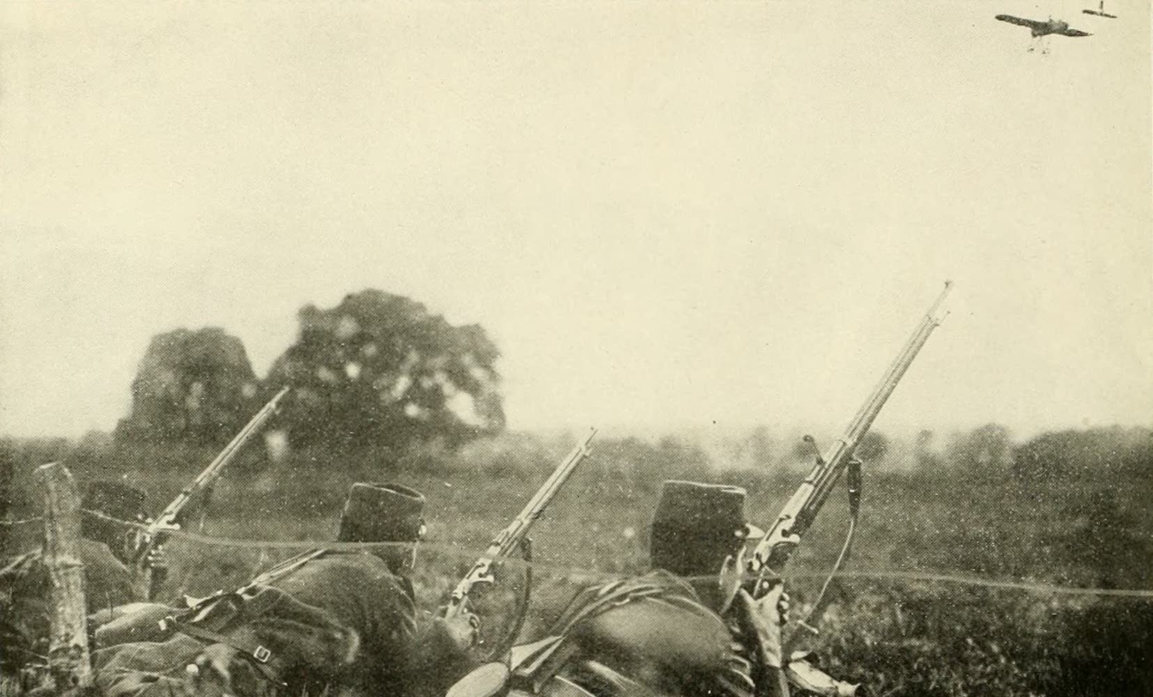 Laird & Lee's World's War Glimpses - Sky Spies Nearing French Ambush (1914)