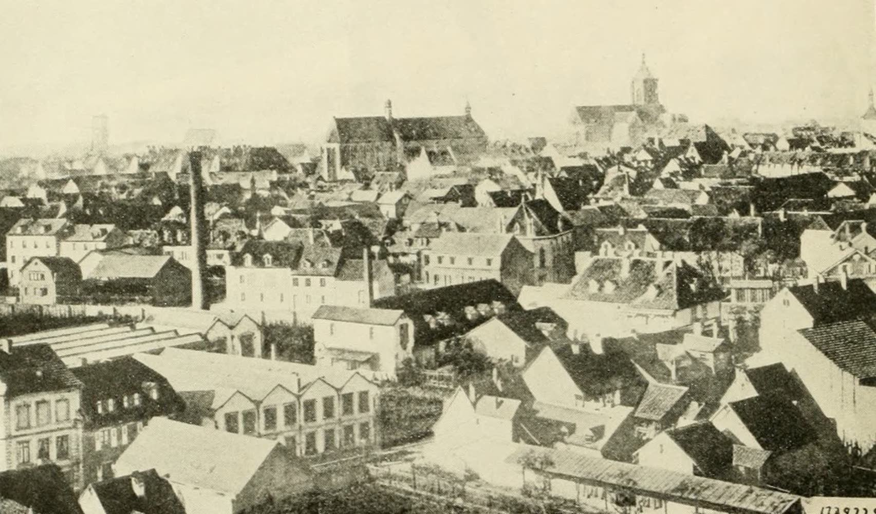 Laird & Lee's World's War Glimpses - A General View of Colmar (1914)