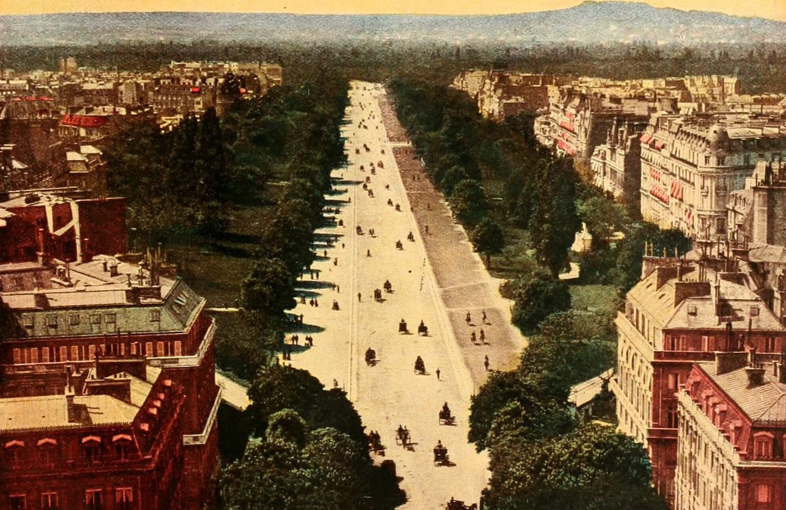 Laird & Lee's World's War Glimpses - View of Paris, the French Capital (1914)