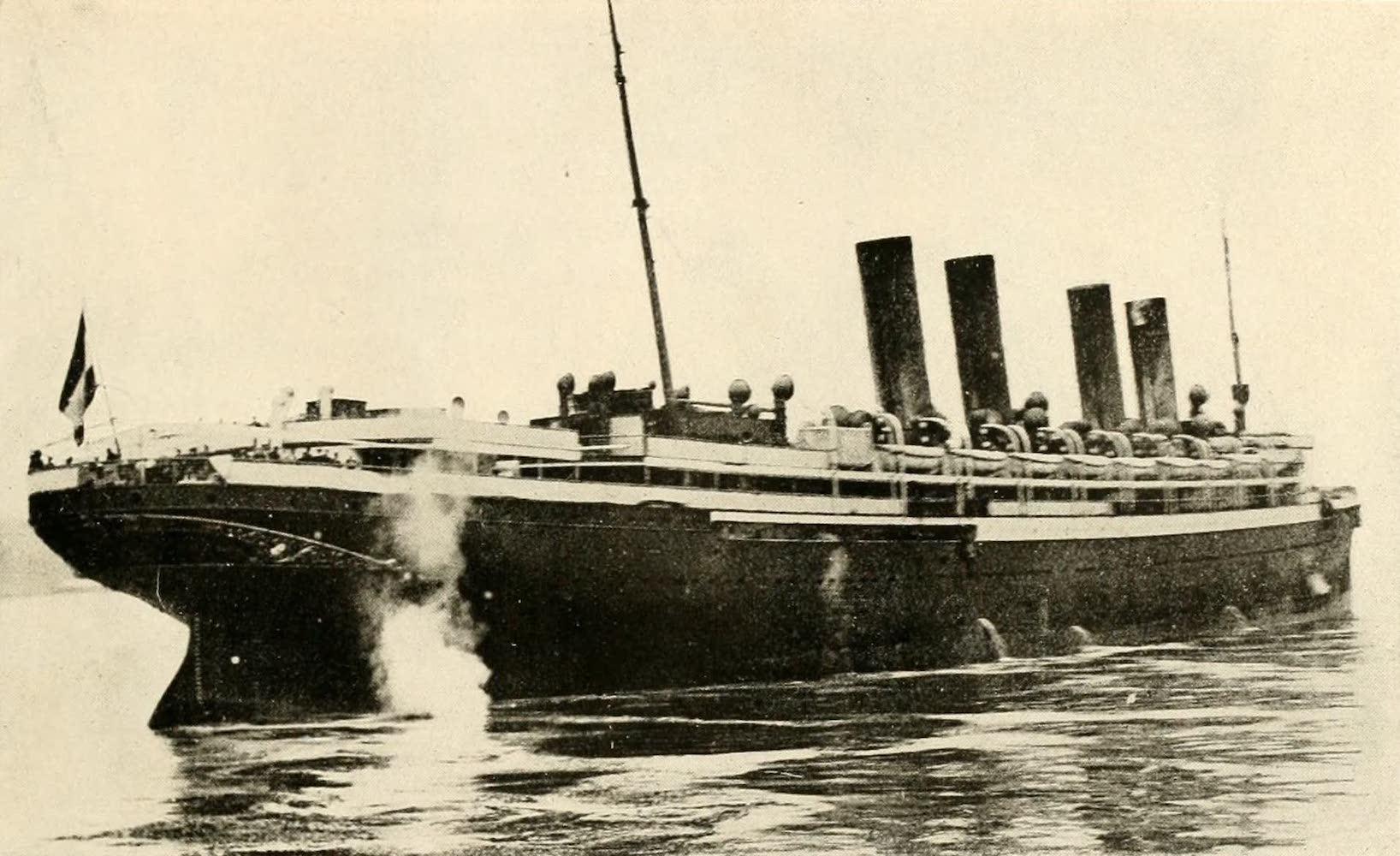 """Laird & Lee's World's War Glimpses - The """"Kaiser Wilhelm Der Grosse"""" (1914)"""