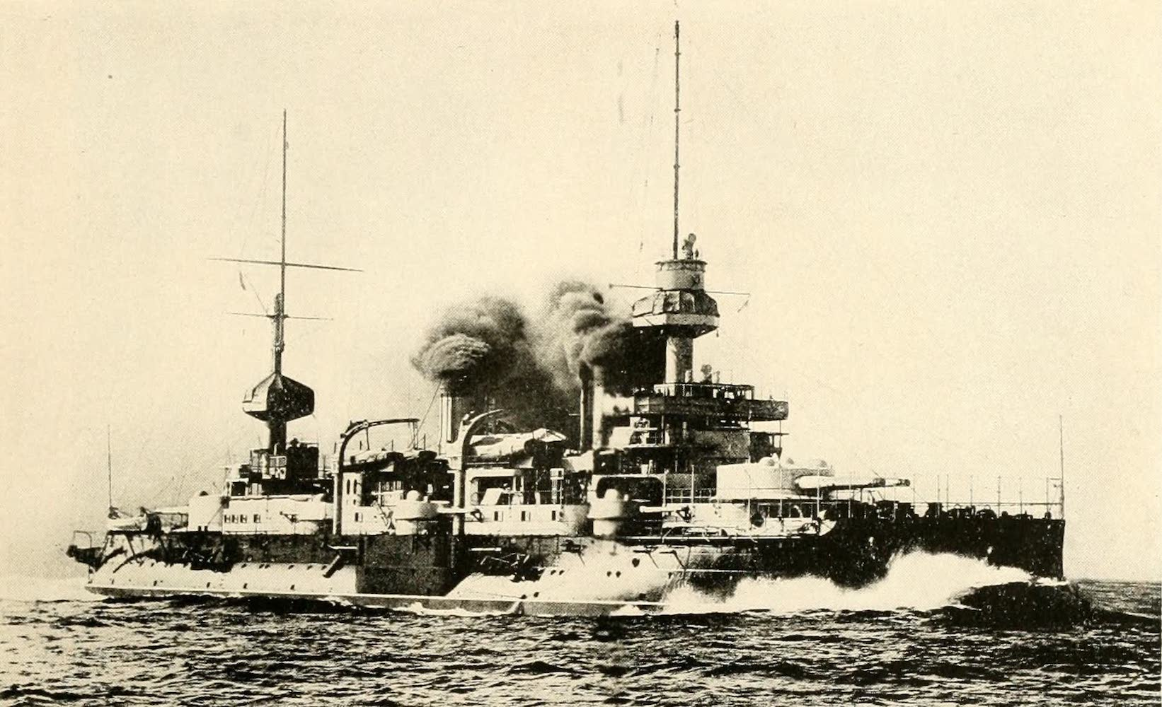 """Laird & Lee's World's War Glimpses - The French Battleship """"Suffren"""" (1914)"""