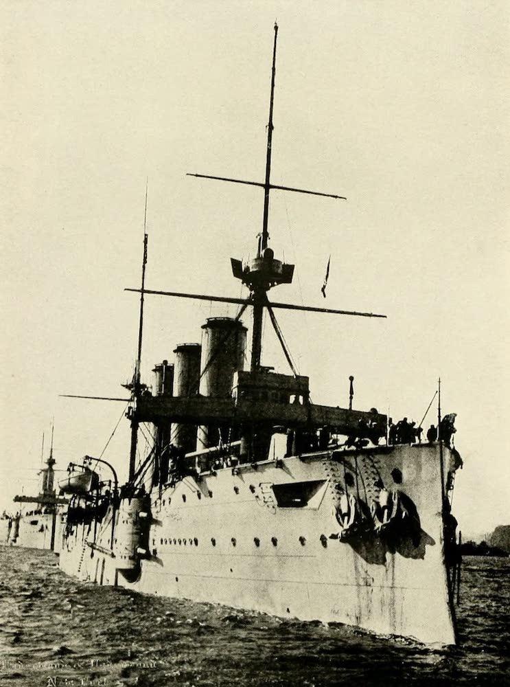 """Laird & Lee's World's War Glimpses - Cruiser """"Essex"""" of the British Navy (1914)"""