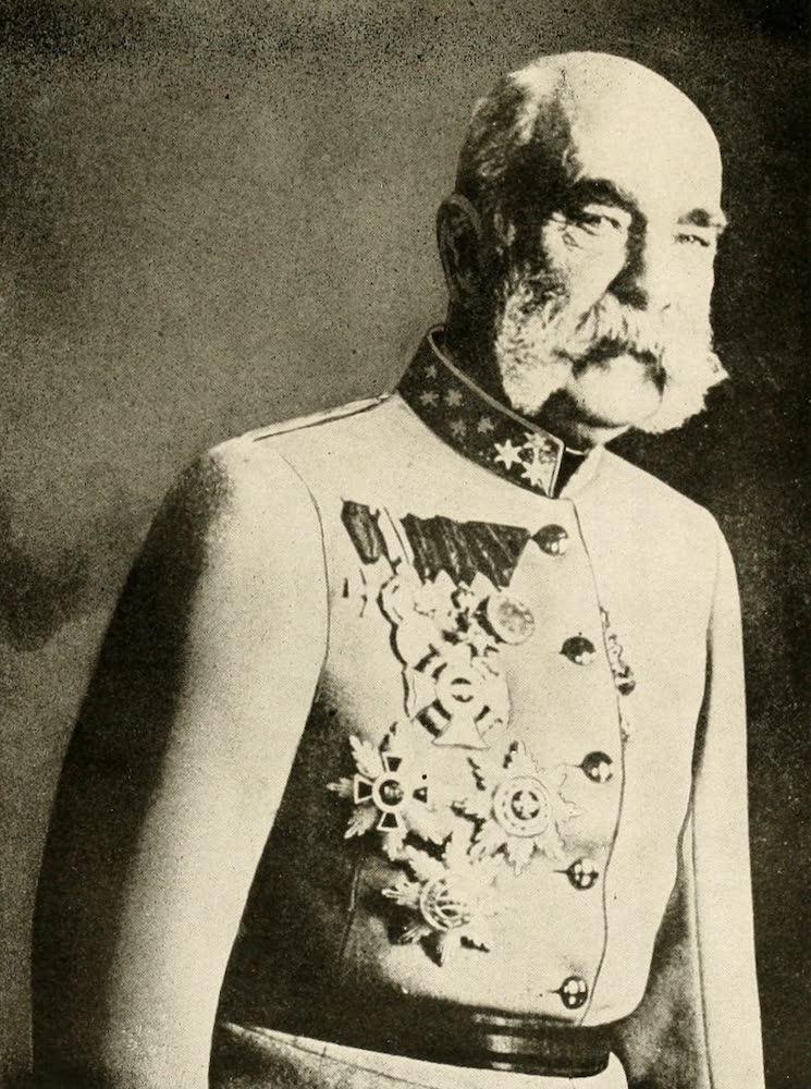 Laird & Lee's World's War Glimpses - Emperor Franz Joseph of Austria (1914)