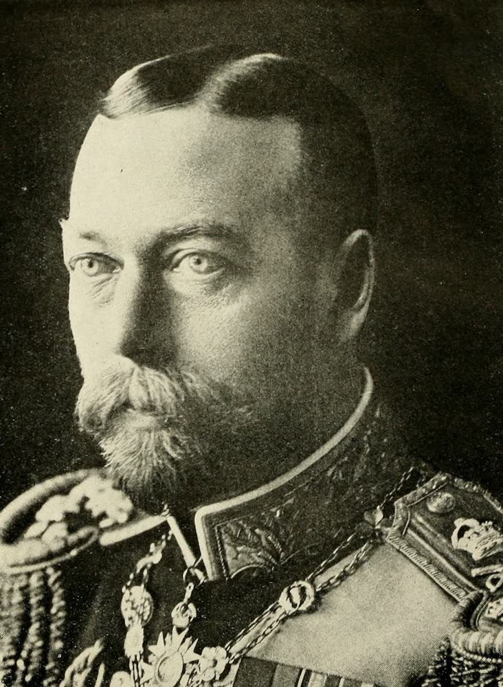 Laird & Lee's World's War Glimpses - King George V, British Monarch (1914)