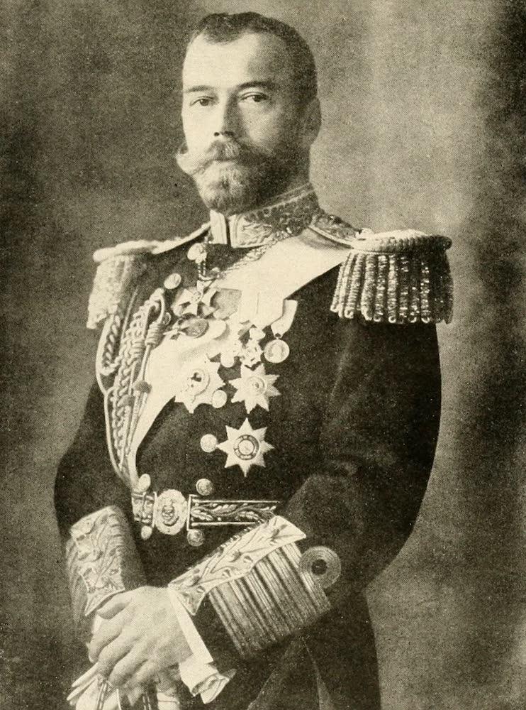 Laird & Lee's World's War Glimpses - Czar Nicholas II of Russia (1914)