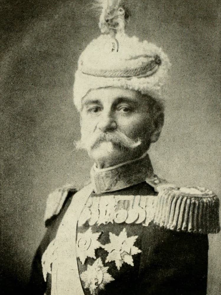 Laird & Lee's World's War Glimpses - King Peter I of Servia (1914)