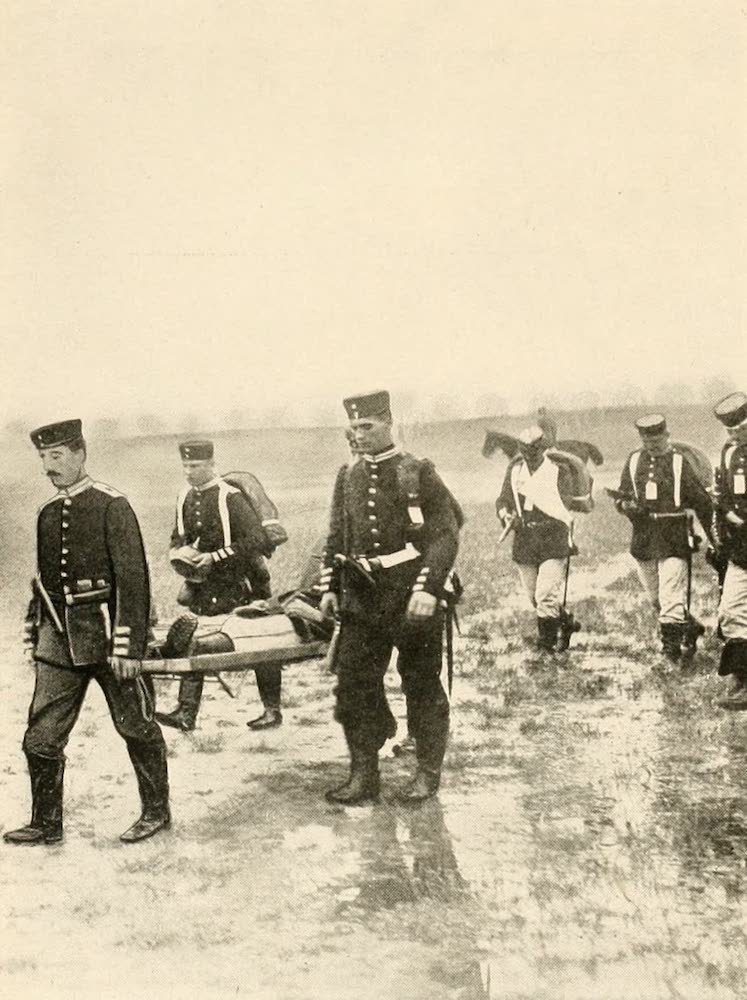 Laird & Lee's World's War Glimpses - Germans Taking Care of Their Wounded (1914)