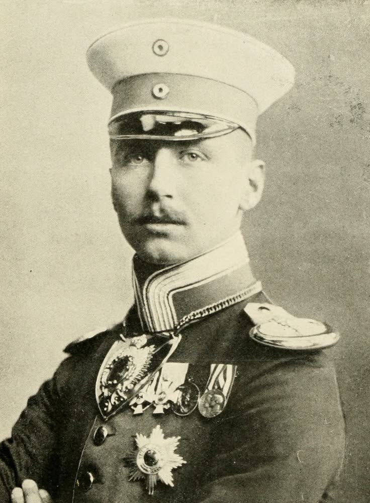 Laird & Lee's World's War Glimpses - Youngest Son of German Emperor (1914)