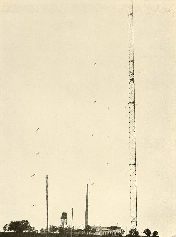 Laird & Lee's World's War Glimpses - German Wireless Station at Tuckerton, N.J. (1914)