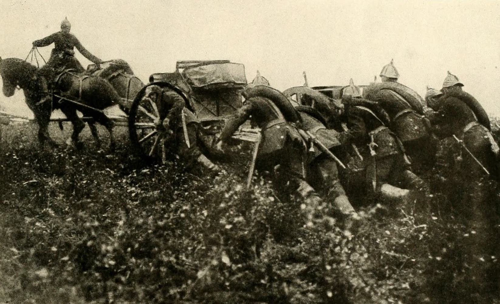 Laird & Lee's World's War Glimpses - German Artillery in the Field (1914)