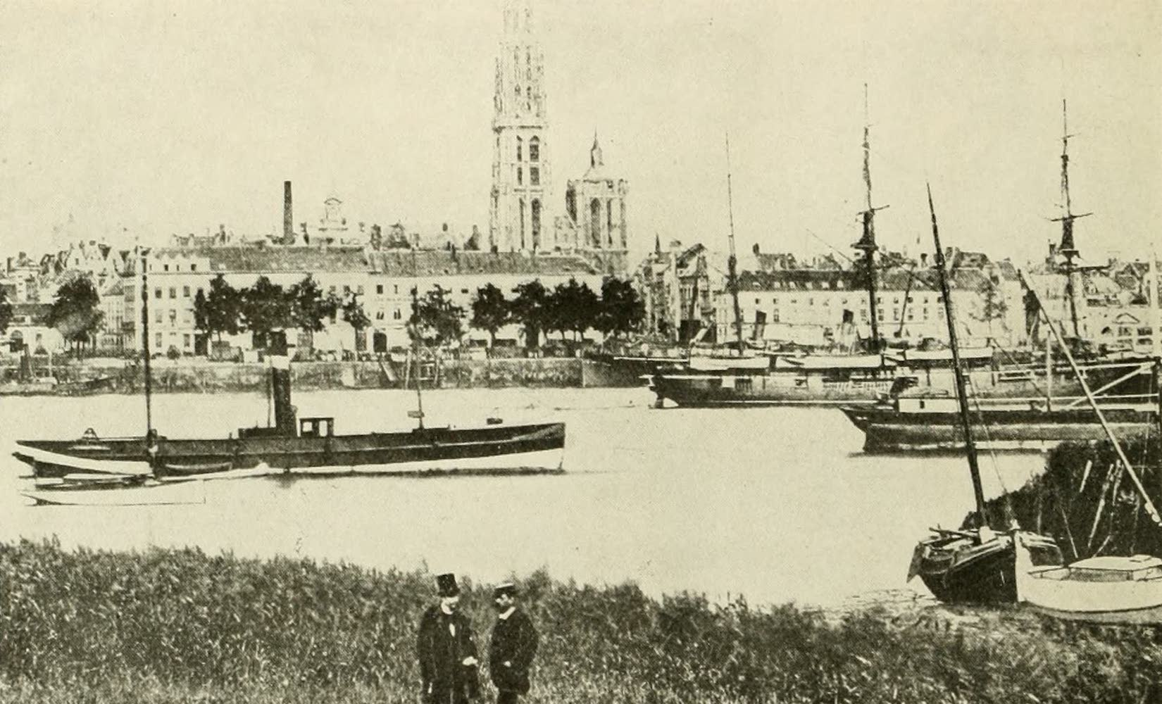 Laird & Lee's World's War Glimpses - Scenes in Antwerp, the New Belgian Capital (1914)