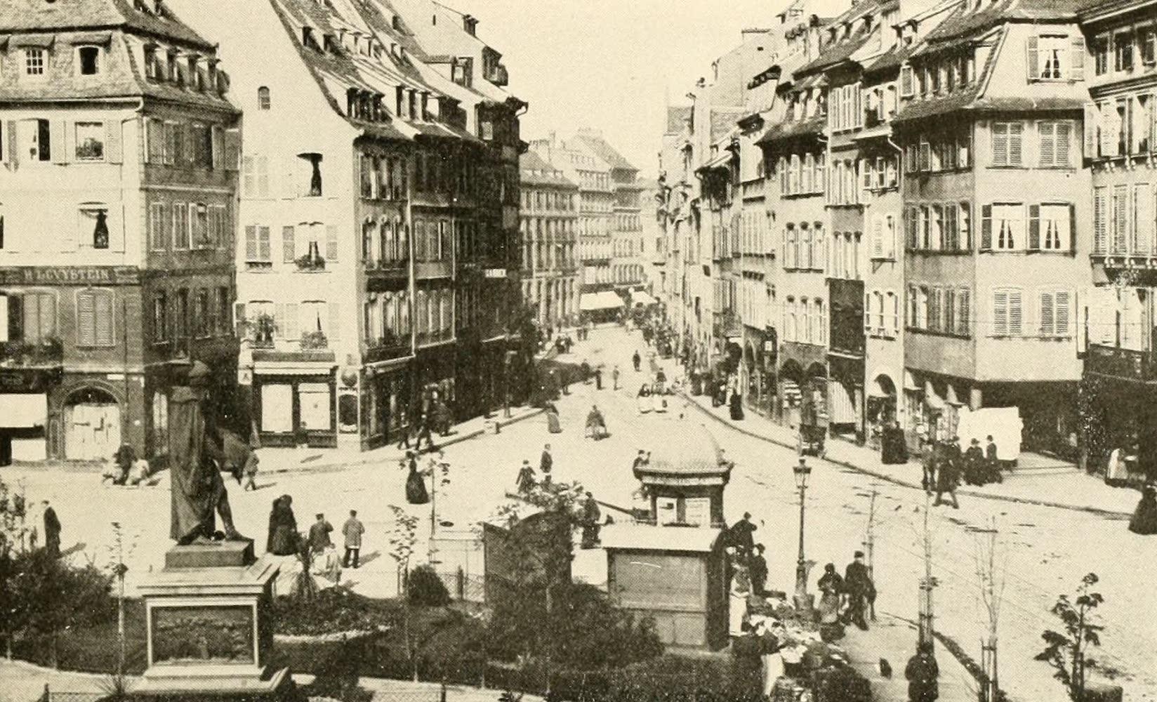 Laird & Lee's World's War Glimpses - Gutenburg Platz, in Strassburg, Alsace-Lorraine (1914)