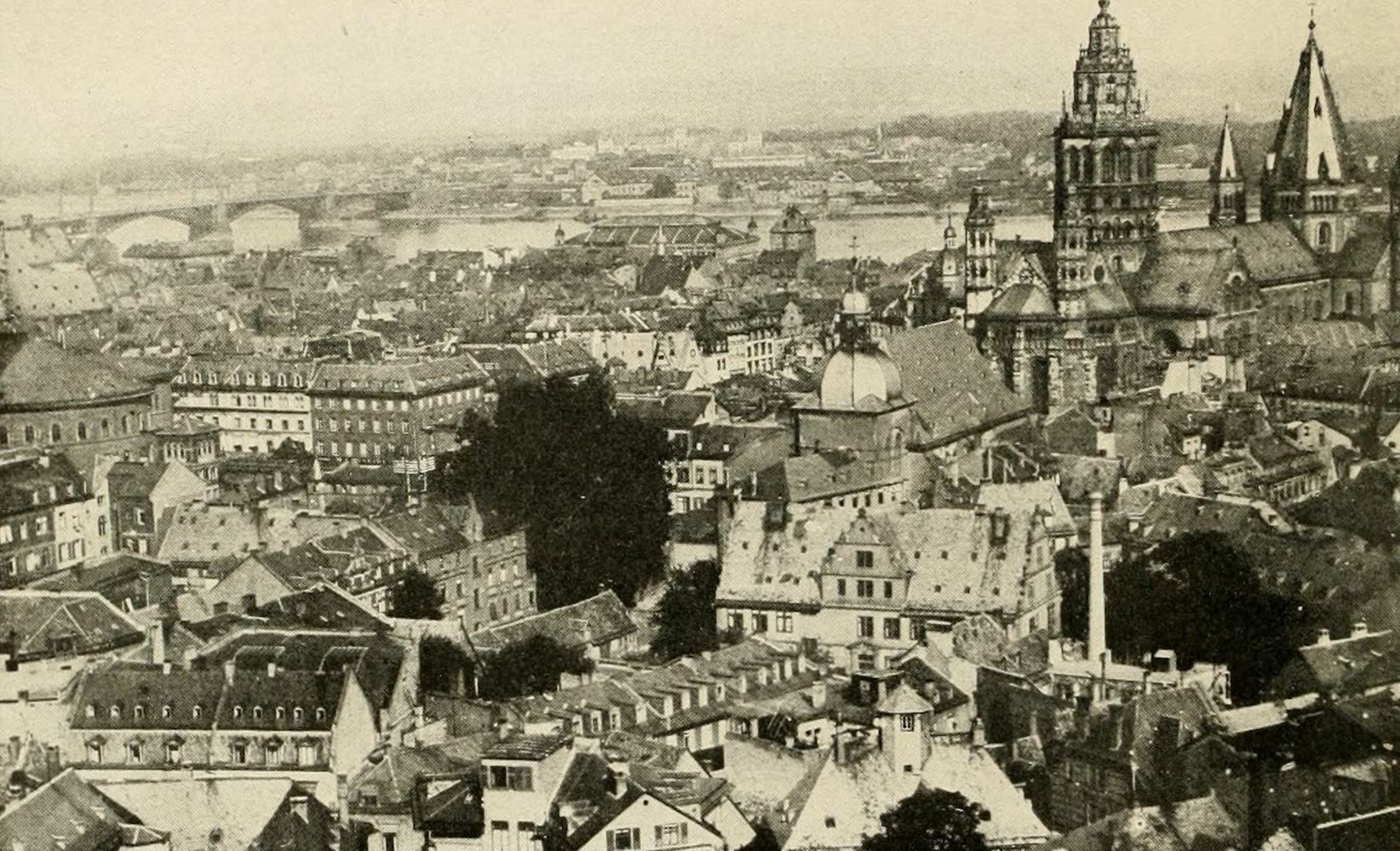 Laird & Lee's World's War Glimpses - A View of the City of Mainz (1914)
