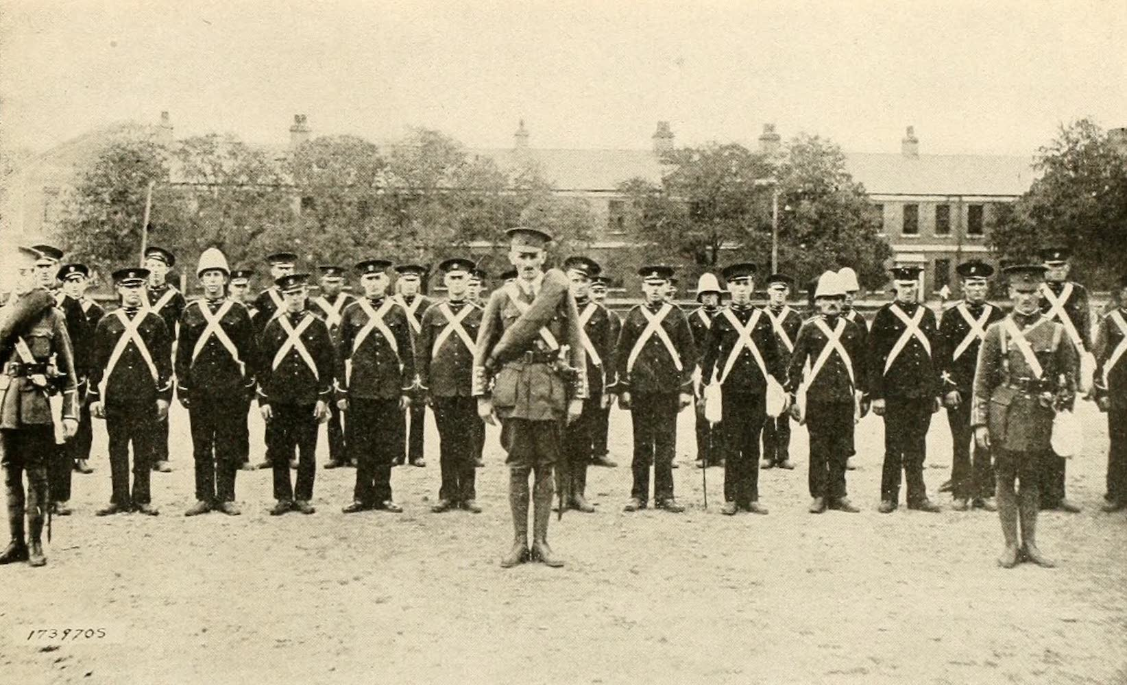 Laird & Lee's World's War Glimpses - Canada's Crack 66th Ready for the Front (1914)