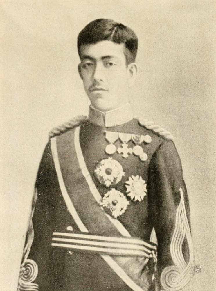 Laird & Lee's World's War Glimpses - Yoshihito, Mikado of Japan (1914)