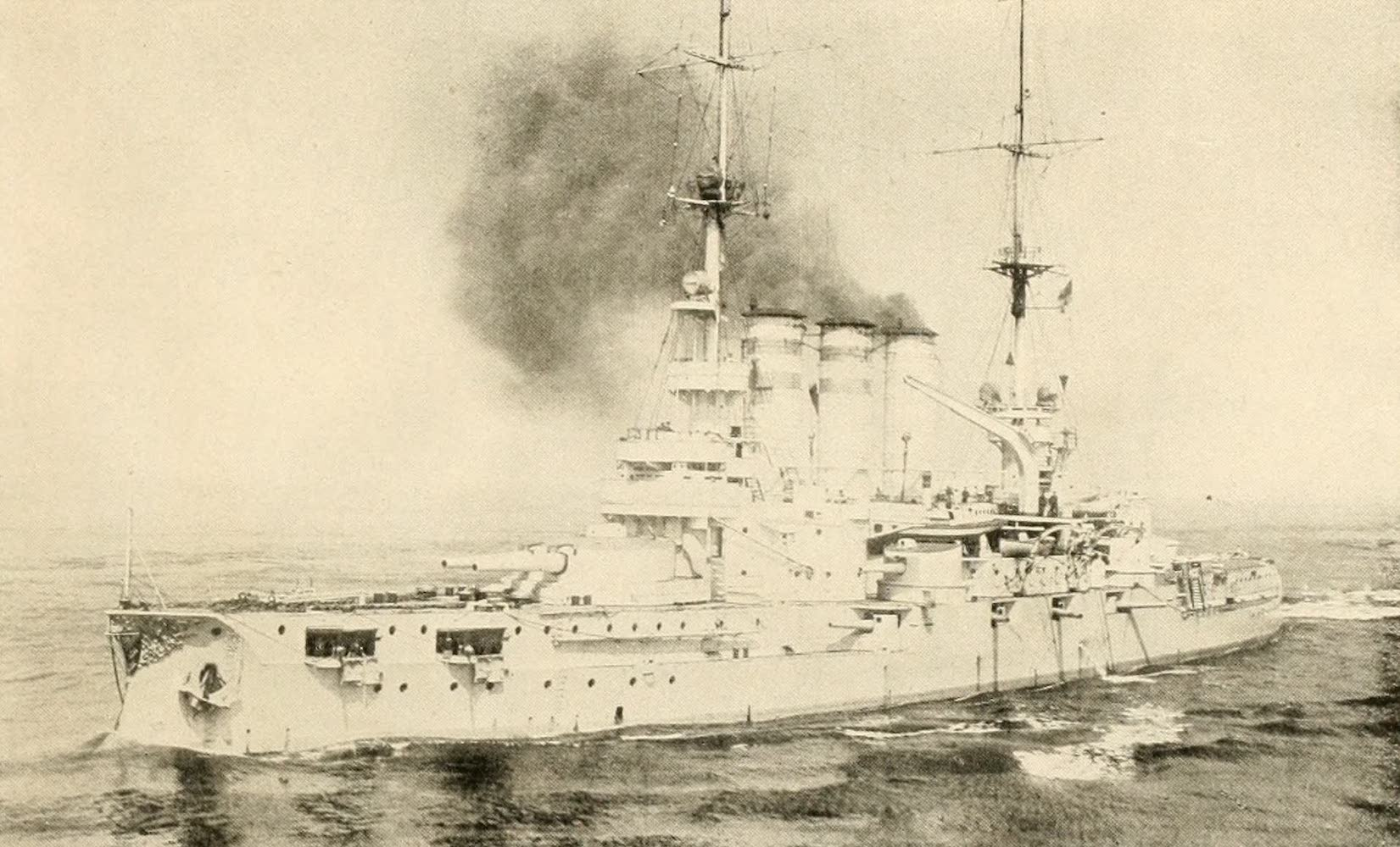 """Laird & Lee's World's War Glimpses - The """"Elsass"""" of the German Navy (1914)"""