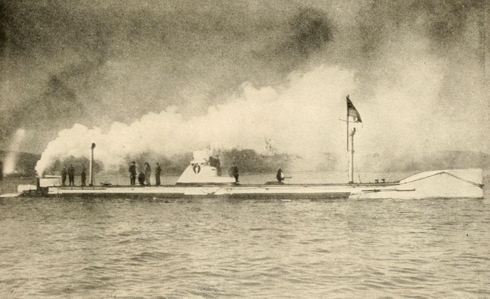 Laird & Lee's World's War Glimpses - Submarine U1 - German Navy (1914)