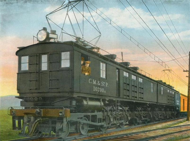 Lake Michigan to Puget Sound - One Type of Electric Locomotive (1923)