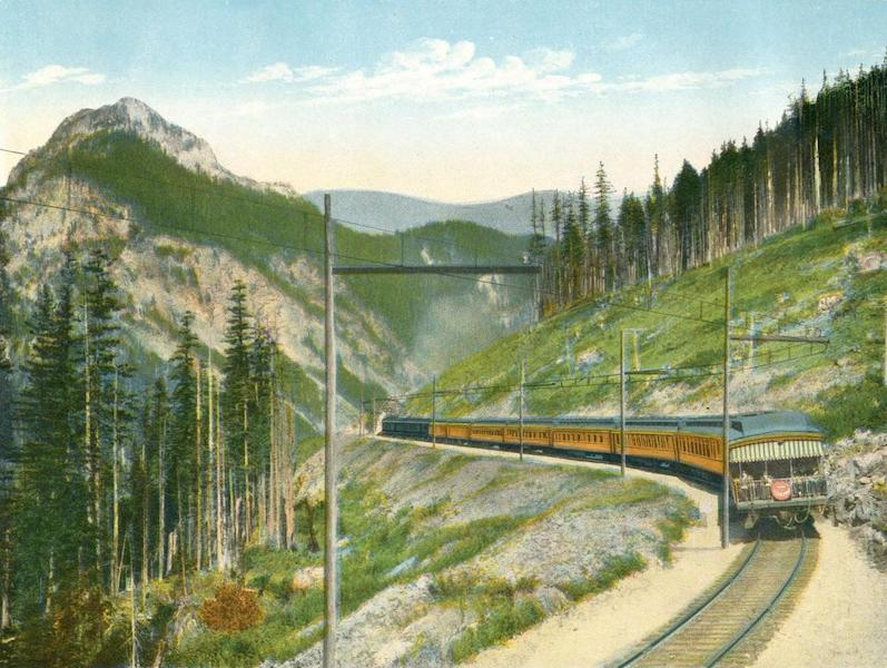 The Olympian on West Slope of the Cascade Mountains, Wash.