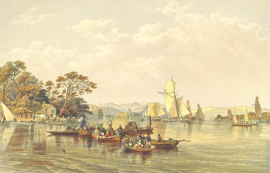 Lake Scenery of England - Lake Winderemere Regata (1859)