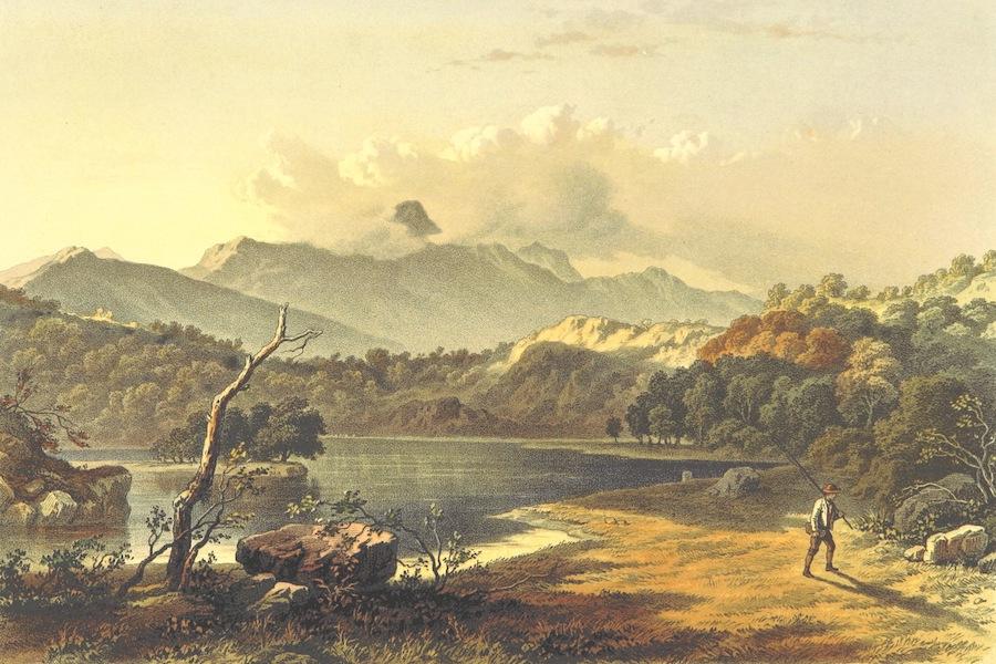 Lake Scenery of England - Rydal Water (1859)