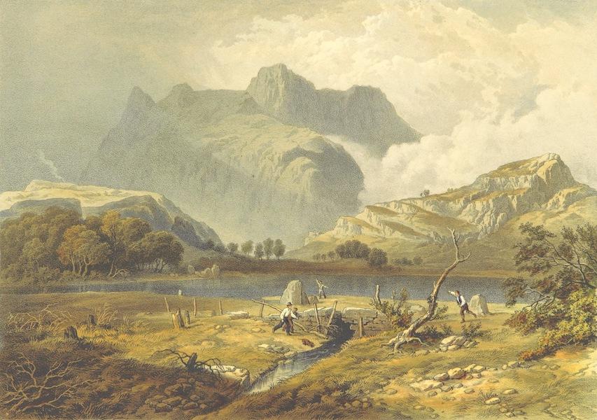 Lake Scenery of England - Langdale Pikes (1859)
