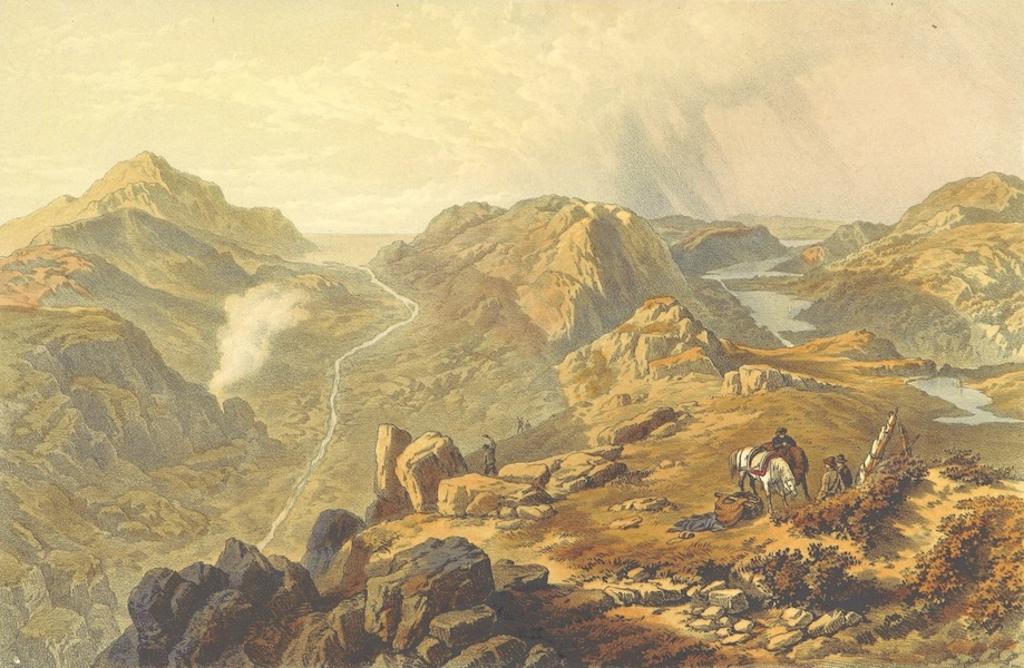 Lake Scenery of England - The Vales of Ennerdale and Butteremere (1859)