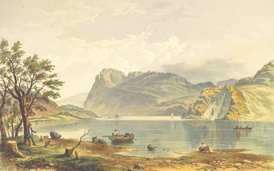 Lake Scenery of England - Ennderdale Lake (1859)