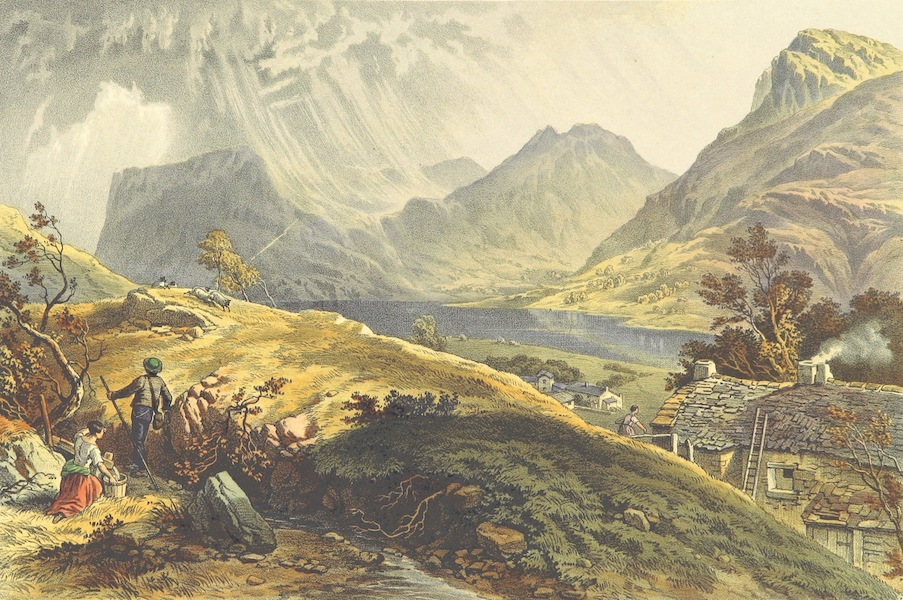 Lake Scenery of England - Butteremere (1859)