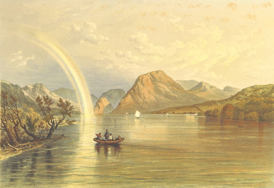 Lake Scenery of England - Lowes Water (1859)