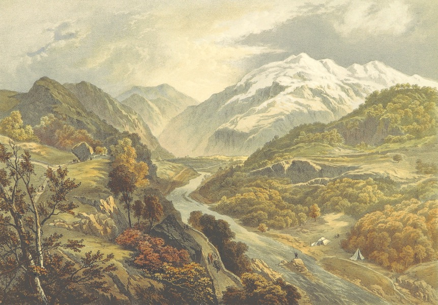 Lake Scenery of England - The Derwent River and Borrowdale (1859)
