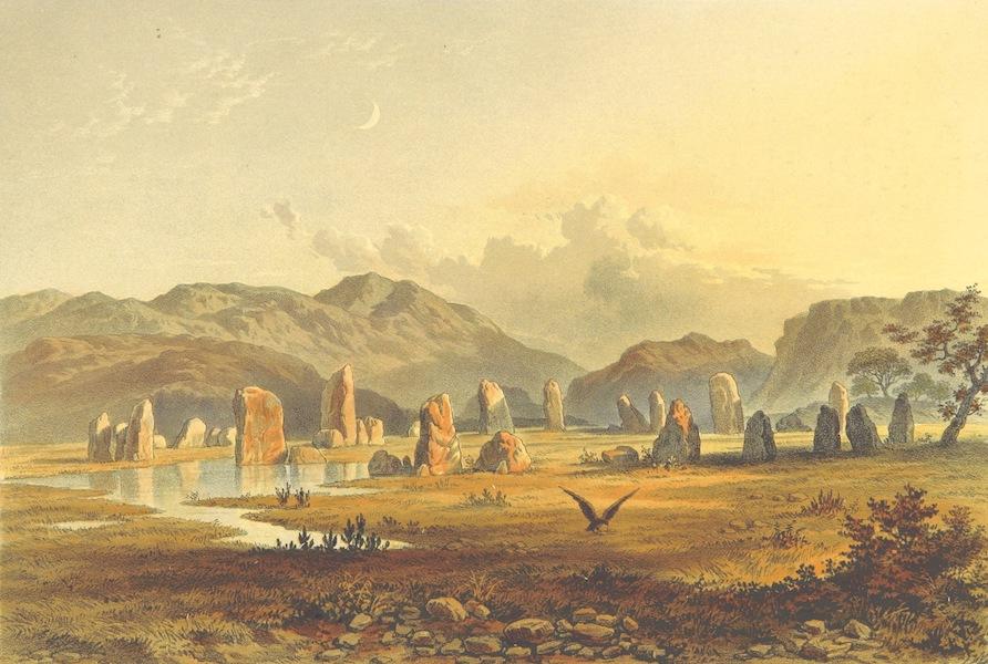 Lake Scenery of England - The Druidical Circle near Keswick (1859)