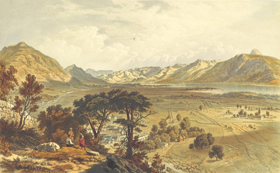 Lake Scenery of England - Bassenthewaite Lake, Vale and Village (1859)