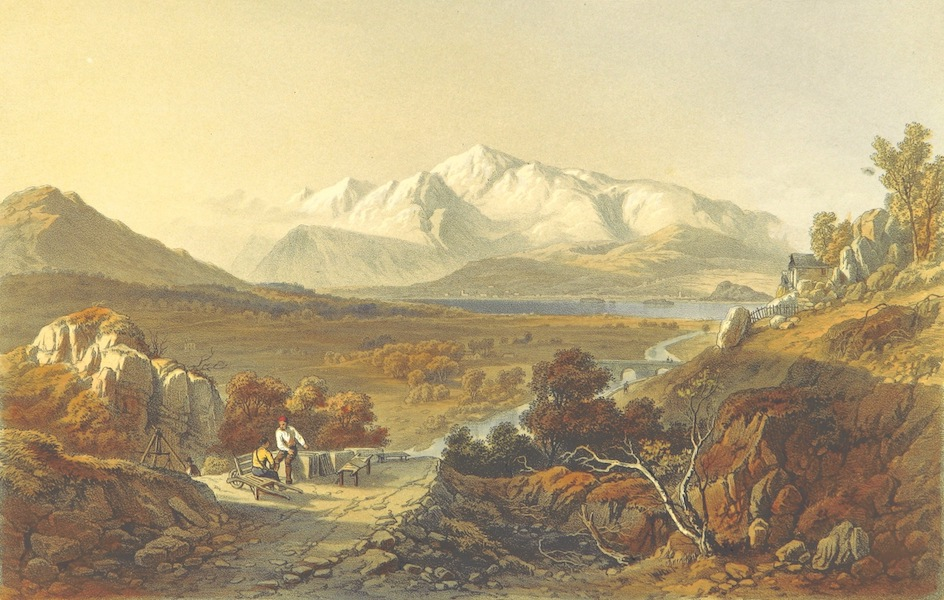 Lake Scenery of England - Skiddaw (1859)