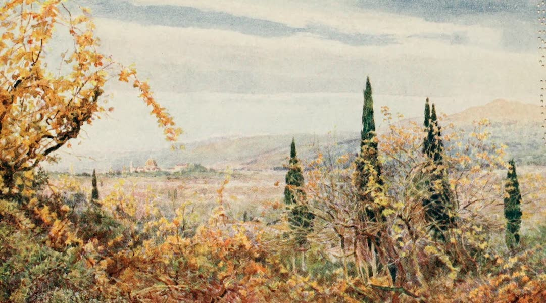 Lamia's Winter-Quarters - And out of a valley of grape and grain there blossoms a City of domes and towers' (1907)