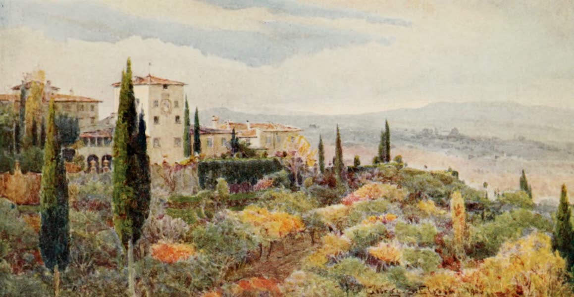 Lamia's Winter-Quarters - A Tuscan Villa (1907)