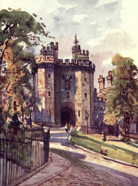 Lancashire Painted and Described - Lancaster Castle: The Gateway (1921)