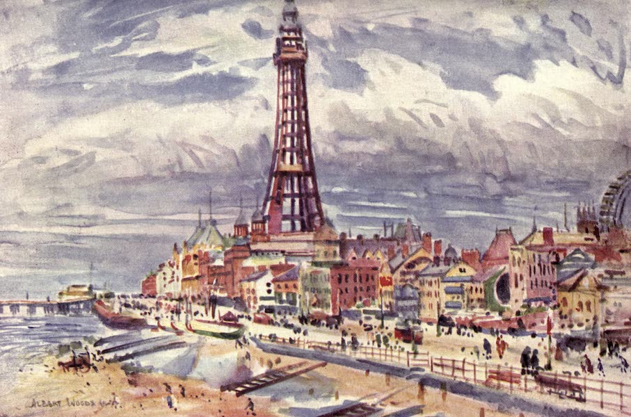 Lancashire Painted and Described - Blackpool (1921)