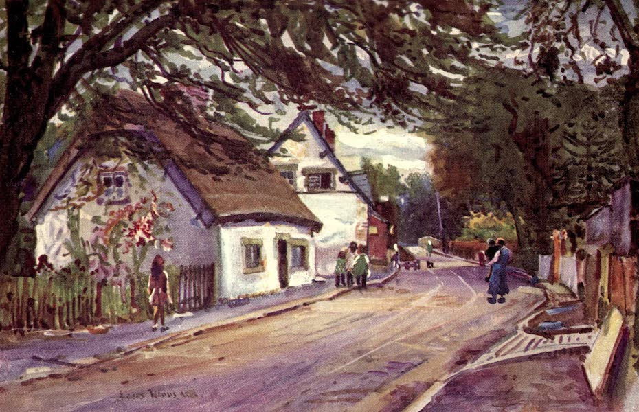 Lancashire Painted and Described - St. Michael's on Wyre (1921)