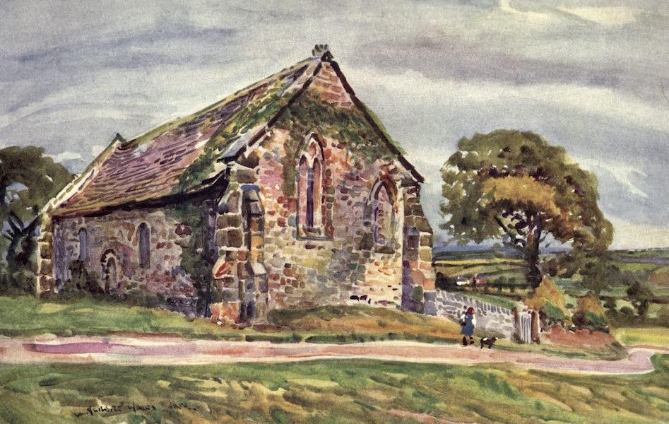 Lancashire Painted and Described - St. Saviour's Chapel, Stidd (1921)