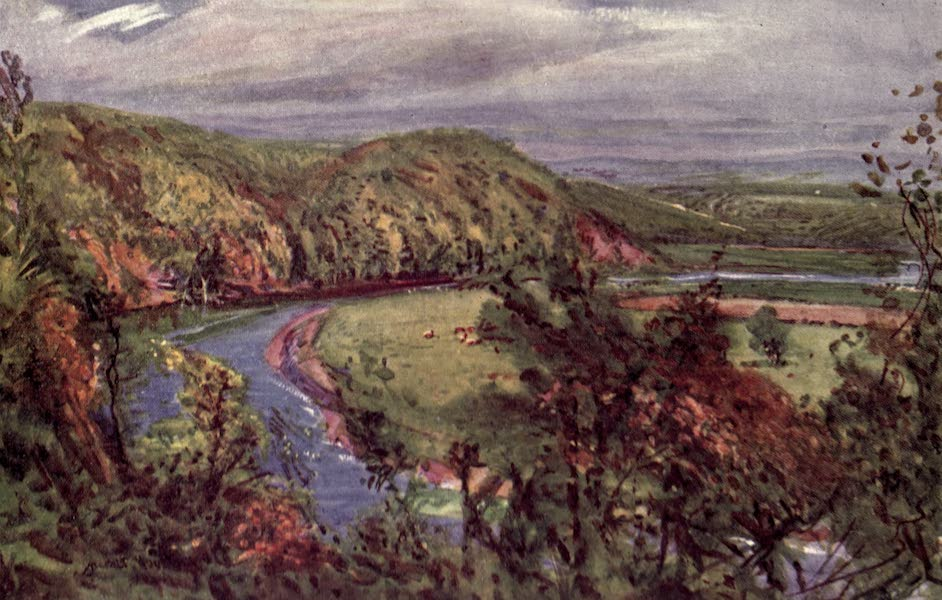 Lancashire Painted and Described - The Horseshoe Bend, Redscar (1921)