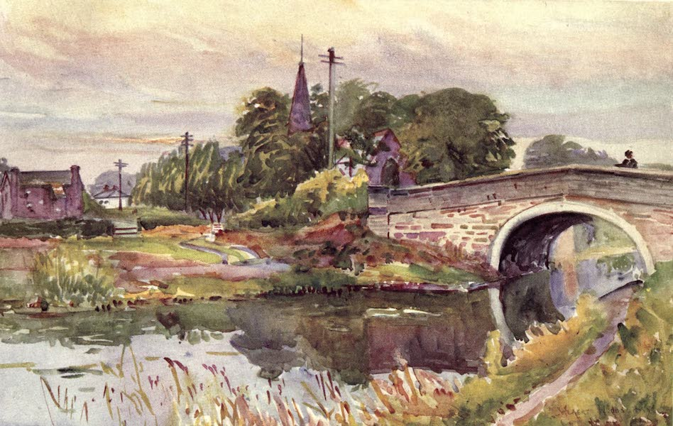 Lancashire Painted and Described - Rufford (1921)